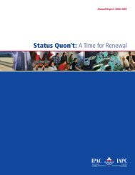 Status Quon't: A Time for Renewal - The Institute of Public ...