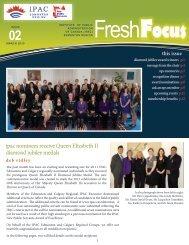 2013 March - Fresh Focus Newsletter - The Institute of Public ...