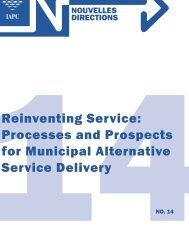 Reinventing Service - The Institute of Public Administration of Canada