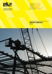 REPORT ANNUALE 2012 - IPAF