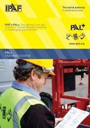 PAL+ TRAINING COURSE - IPAF