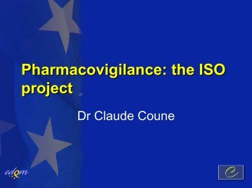 Pharmacovigilance - Indian Pharmaceutical Association