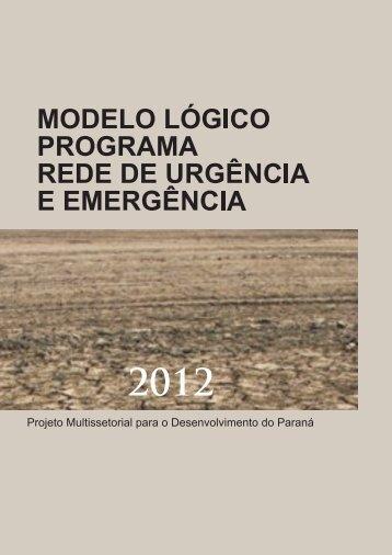Rede de Urgência e Emergência - Ipardes