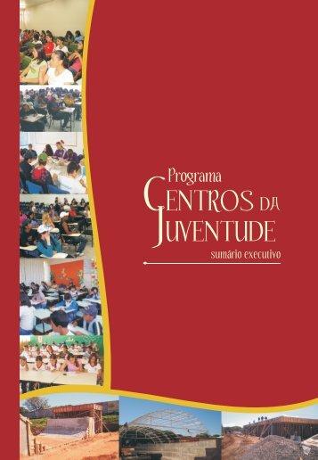 Programa Centros da Juventude - Sumário Executivo - Ipardes