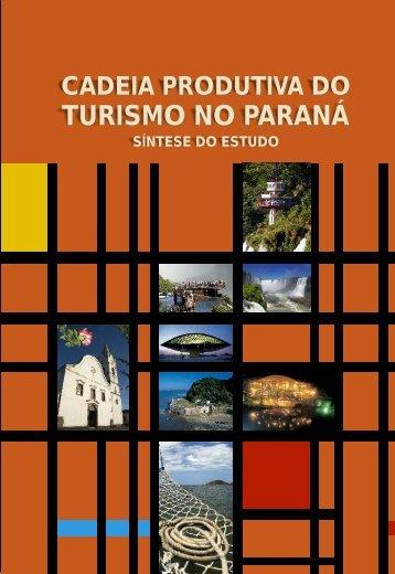 Cadeia produtiva do turismo no Paraná - Ipardes