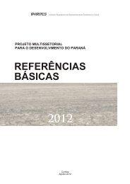 Referências Básicas - Ipardes