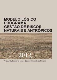Gestão de Riscos Naturais e Antrópicos - Ipardes