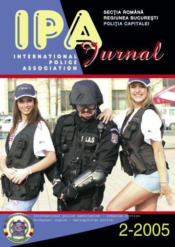 JURNAL IPA COP 1 - IPA Romania