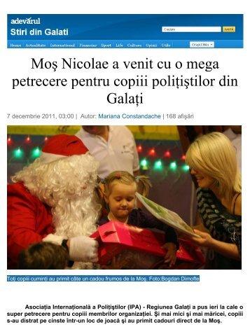 Moş Nicolae a venit cu o mega petrecere pentru ... - IPA Romania