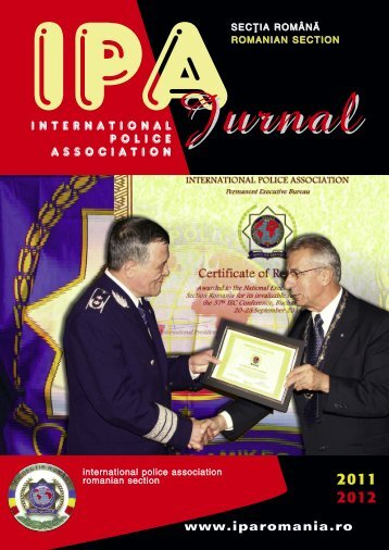 Jurnal - IPA Romania