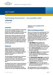 Fact sheet - Technology approval non potable water ... - IPART