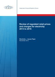 Review of regulated retail prices and charges for electricity 2013-2016