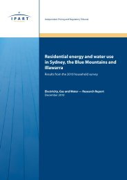 Residential energy and water use in Sydney, the Blue Mountains ...
