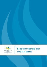 Attachment 11 - Long Term Financial Plan 2013 - 14 to 2022 - IPART