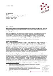 Response to the IPART draft report for Gosford City Council and ...