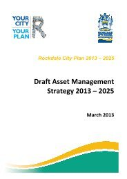 Exhibition draft Asset Management Strategy 2013 - IPART