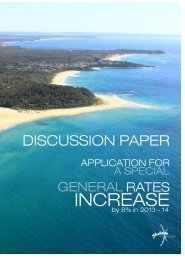 Discussion Paper - Application - General Rates Increase ... - IPART