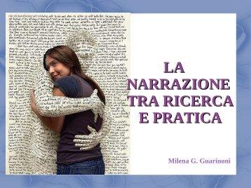 la narrazione tra ricerca e pratica - Collegio IP.AS.VI. di Brescia