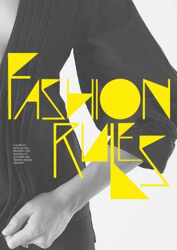 Fashion Rules PDF - IP Australia