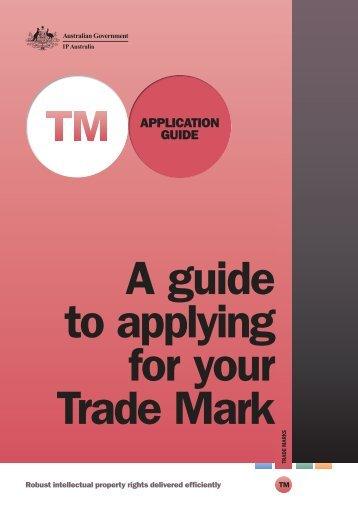 Trade Mark Guide - IP Australia