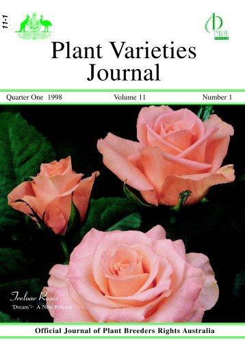 61. Volume 11- Number 1 - IP Australia