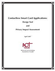 Contactless Smart Card Applications: - Information and Privacy ...