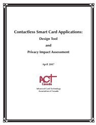 Contactless Smart Card Applications: Design Tool and Privacy ...
