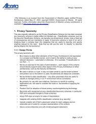 Privacy Taxonomy - Information and Privacy Commissioner of Ontario