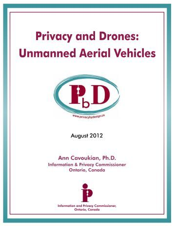 Privacy and Drones: Unmanned Aerial Vehicles - Information and ...