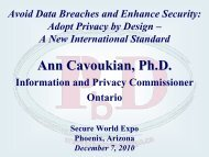 Avoid Data Breaches and Enhance Security: Adopt Privacy by Design