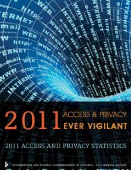 PDF - Information and Privacy Commissioner of Ontario