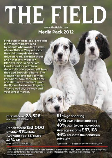 Media Pack 2012 41% AB - IPC | Advertising