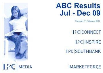 ABC Jul - Dec 09 - IPC   Advertising