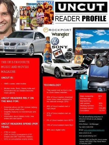 the uk's favourite music and movies magazine - IPC   Advertising
