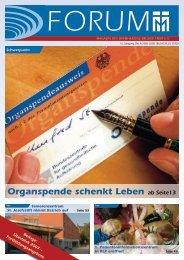 Organspende schenkt Leben ab Seite13 - Barmherzige Brüder Trier e. V.
