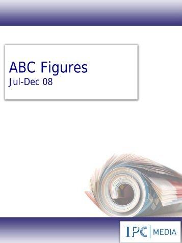 ABC Figures Jul-Dec 08 - IPC   Advertising