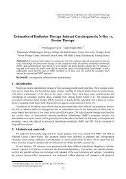 X-Ray vs. Proton Therapy - ipcbee