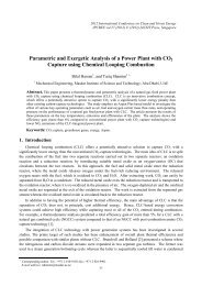 Parametric and Exergetic Analysis of a Power Plant with ... - ipcbee