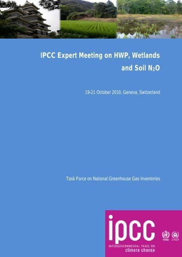 Meeting Report - IPCC - Task Force on National Greenhouse Gas ...