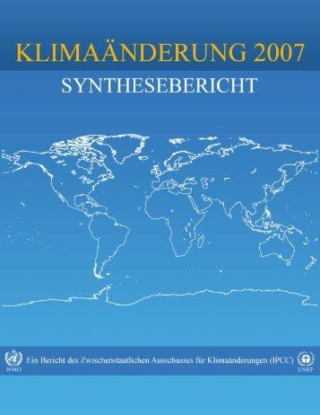 Vierter Sachstandsbericht - IPCC