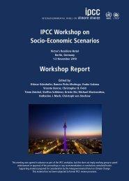 Workshop Report - IPCC