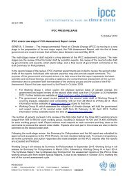 IPCC PRESS RELEASE 5 October 2012 IPCC enters new stage of ...