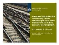 Presentation - IPCC