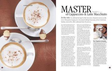 of Cappuccino & Latte Macchiato