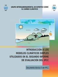Introducción a los modelos climáticos simples utilizados en - IPCC