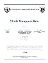(2008) Climate change and water - IPCC