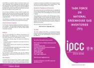 tfi - IPCC - Task Force on National Greenhouse Gas Inventories