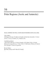 Polar Regions (Arctic and Antarctic)