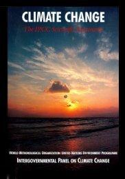 First Assessment Report - IPCC