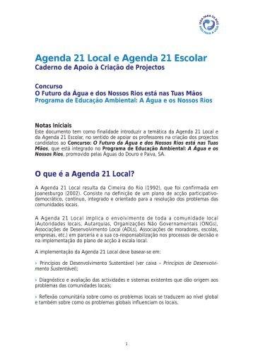 Agenda 21 Local e Agenda 21 Escolar - Vila do Conde
